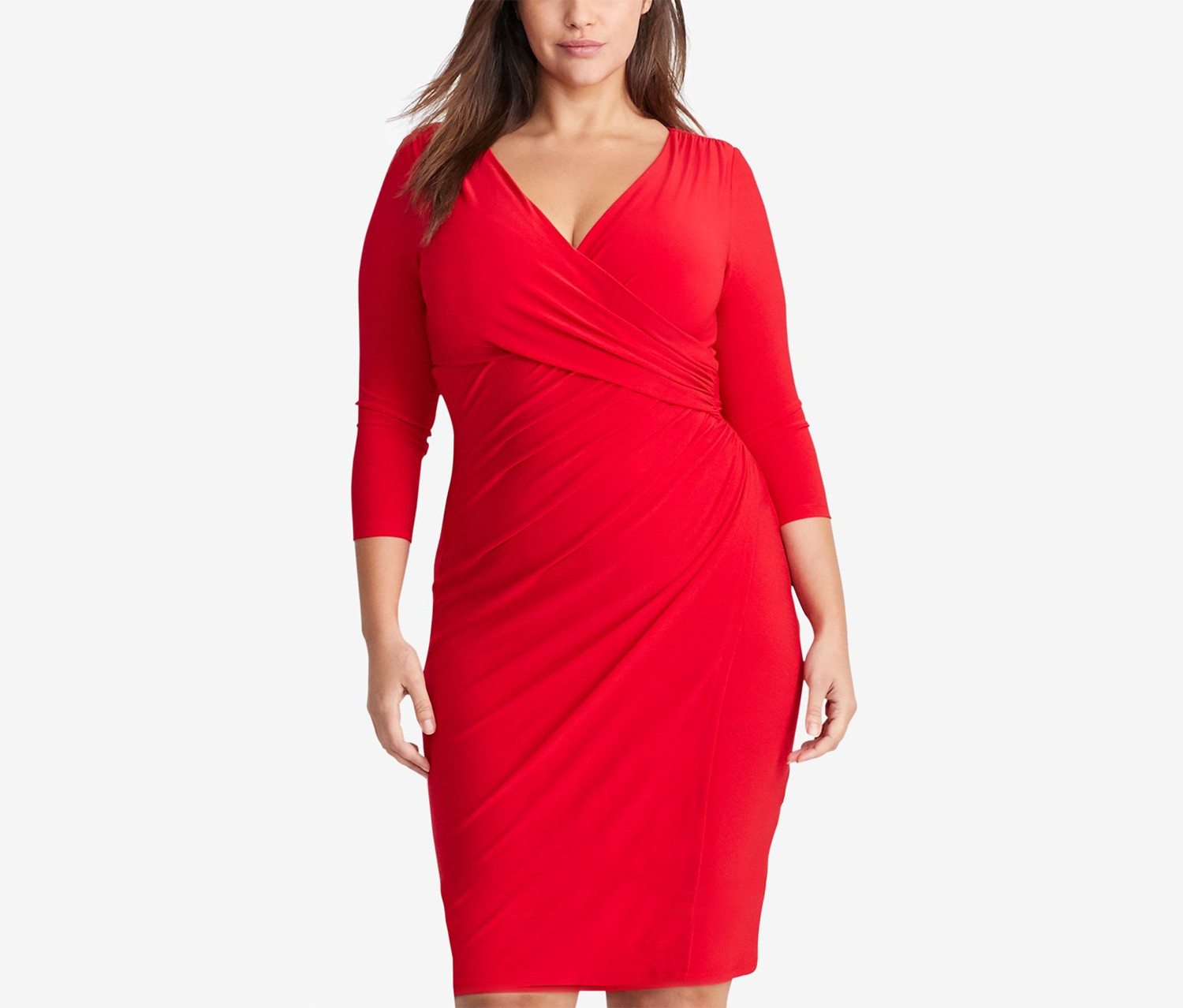 Shop Ralph Lauren Ralph Lauren Plus Size Shirred Jersey ...