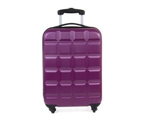 Tahari Lightweight Box 24'' Luggage, Purple