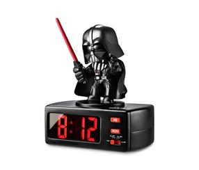 Alarm Clock StarWars Darth Vader, Black