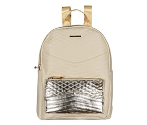 Rampage Women's Metallic Pocket Backpack, Birch