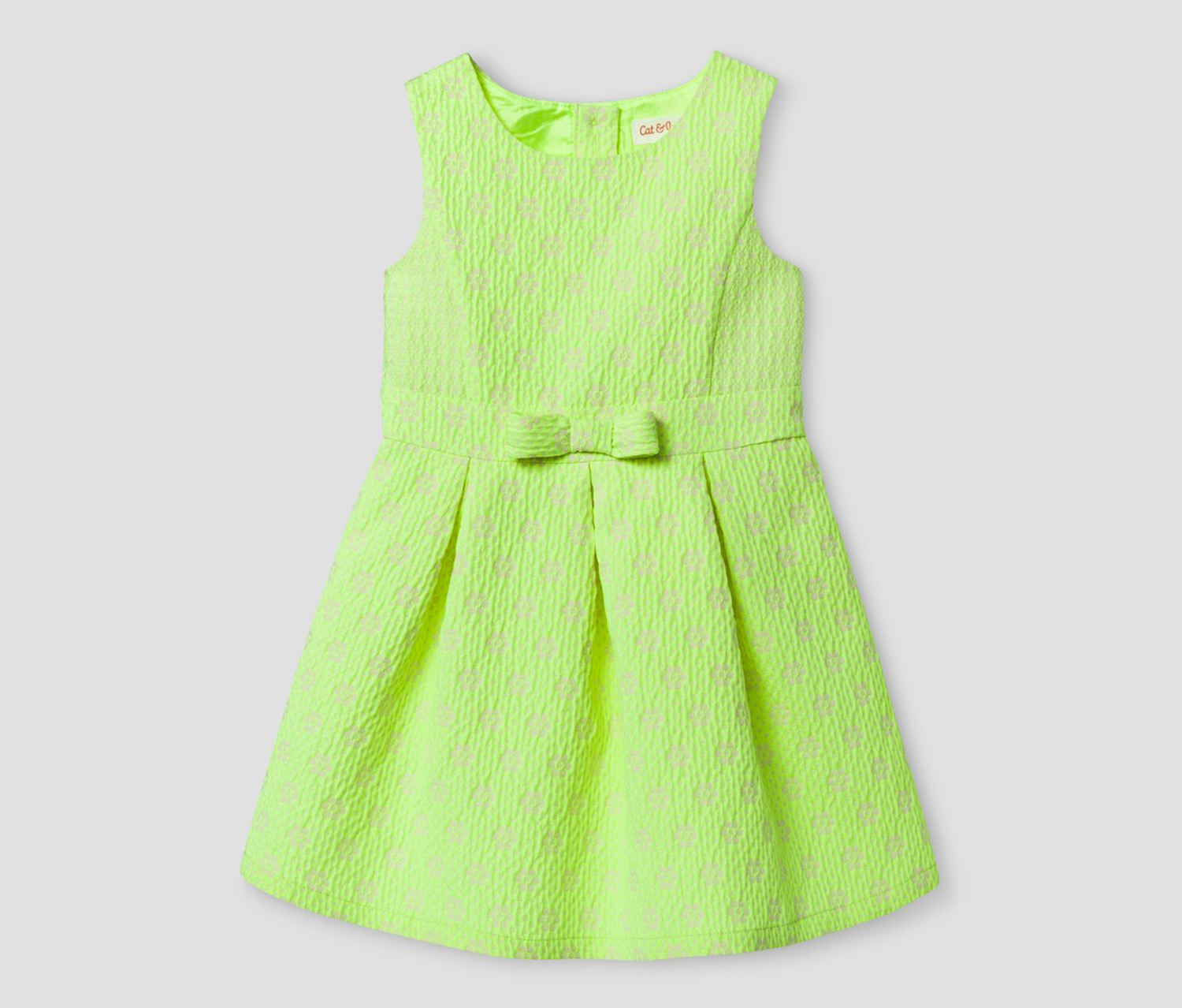 e5452cc12dcab Shop Cat & Jack Cat & Jack Girl's A Line Dress, Lime Green for Kids ...