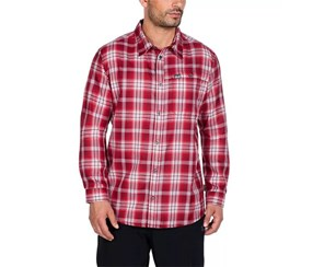 Jack Wolfskin Gifford Shirt, Red Fire Checks