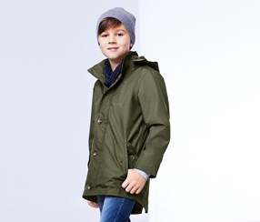 Boys All-Weather Jacket, Olive