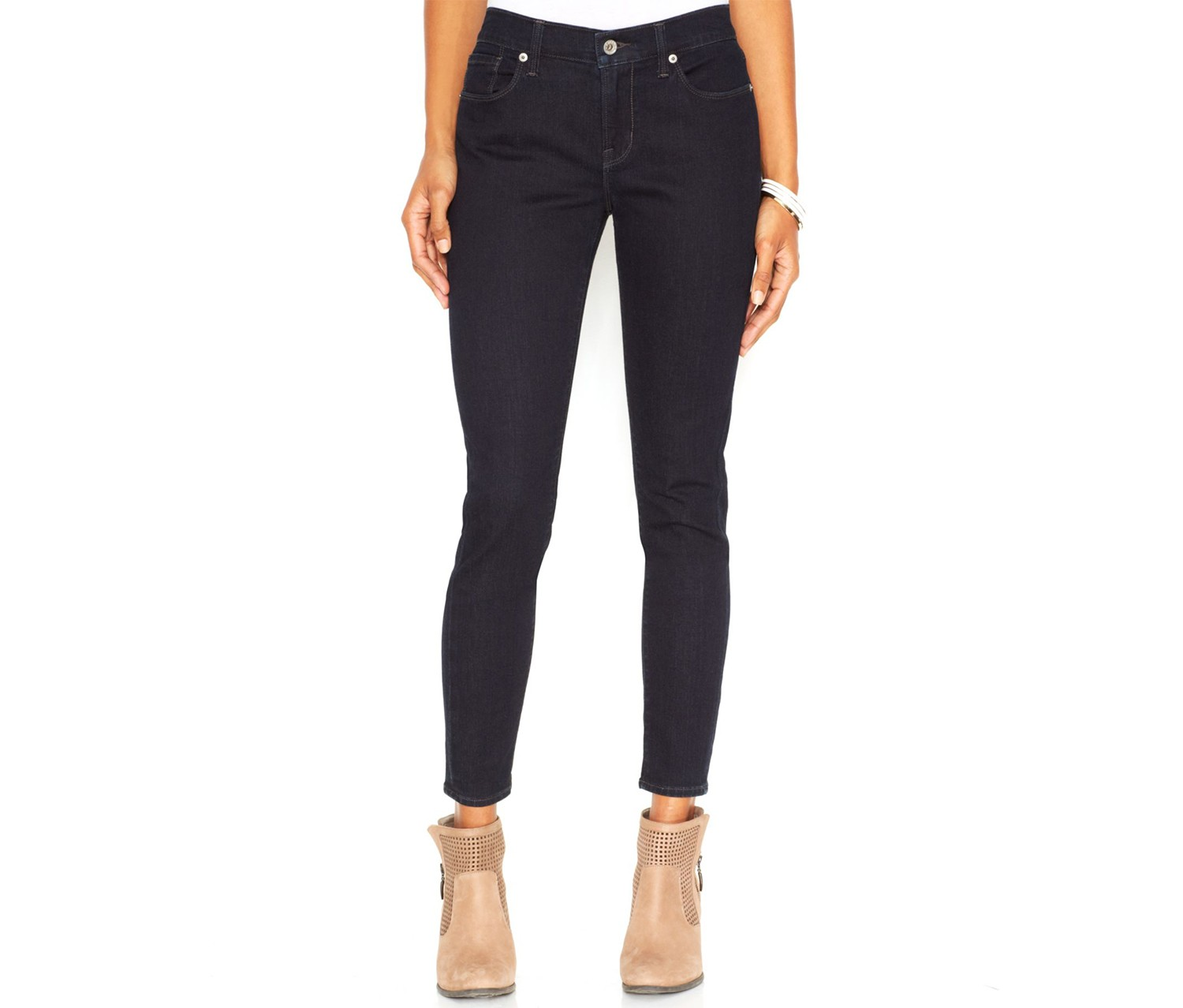 Shop Lucky Brand Lucky Brand Jeans Brooke Mid-Rise Skinny
