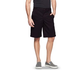 Dickies Men's Regular Fit Flex Fabric Flat Front Shorts, Black