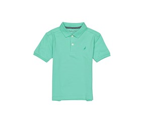 Nautica Boys Anchor Stretch Polo, Spearmint