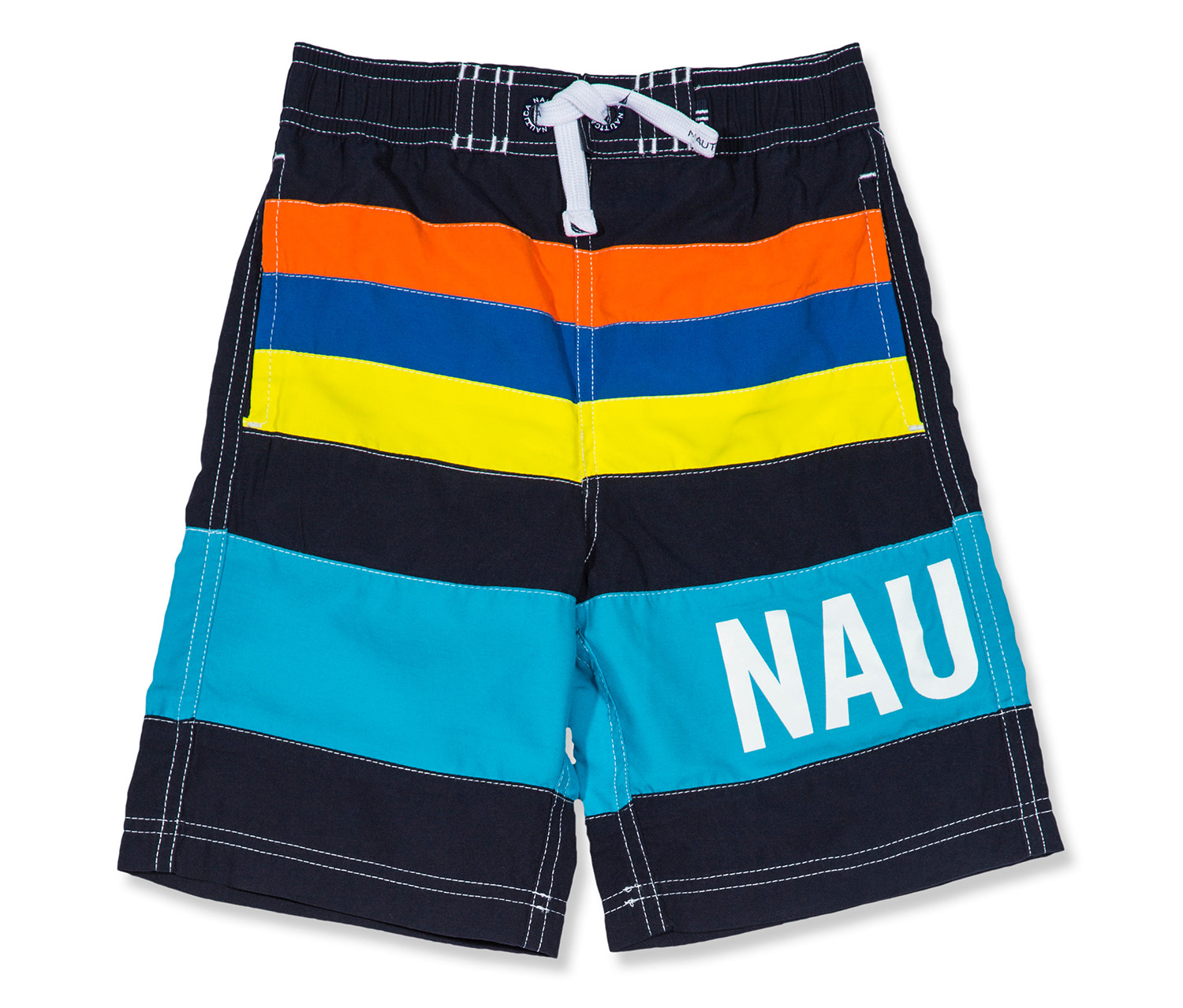 3d7acc383 Shop nautica Nautica Boys Zachary Colorblock Swim Trunks, Navy Combo for  Kids - Boys in Lebanon - Brands For Less