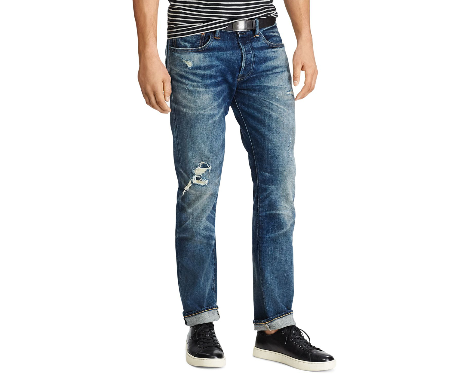 8d075b554 Shop Ralph Lauren Polo Ralph Lauren Men s Varick Slim Straight Jeans ...
