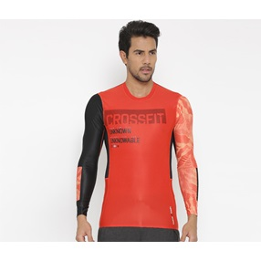 45828827f085 Reebok Men RCF Compression Printed T-Shirt