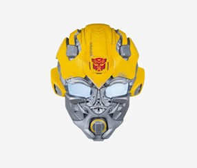 Transformers Bumblebee Voice Changer Mask, Yellow/Silver