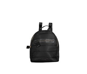 Rampage Women's Quilted Front Zipper Backpack, Black