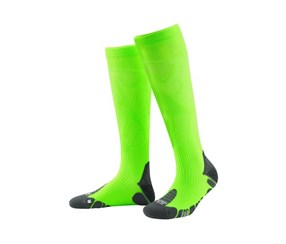 Men's Performance Compression Socks, Neon Green