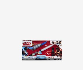 Star Wars Blade Builders Path of the Force Light Saber, Blue/Red/Black