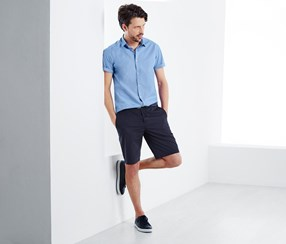 Chino Shorts For Men's, Blue