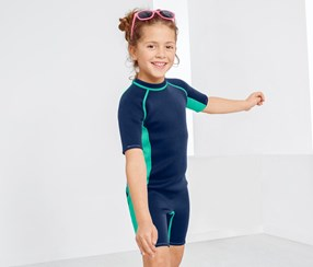 Kids Swimwear For Boys And Girls, Navy/green