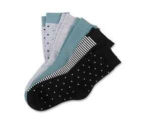 5 Pairs Of Socks, Patterned