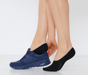 Women's Footsies, Black