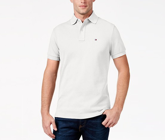 898df81f5 ... Tommy Hilfiger Custom-Fit Ivy Polo Classic, White. 18/425/7891199.jpg