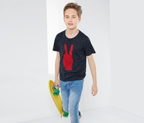 Boy's T-Shirt, Gray