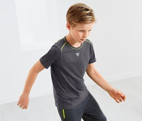 Boys Performance Top, Gray