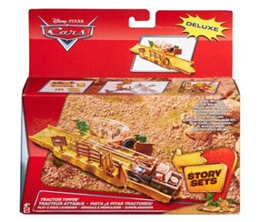 Disney Cars Toys Launcher Tractor Tippin, Red