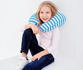 Blue Functional Children's Pillow