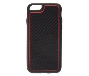 Griffin Case Screen Guard I-Phone 6, Black/Red
