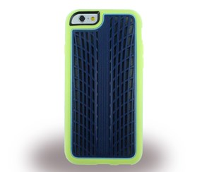 Griffin Case Screen Guard I-Phone 6, Navy Blue/Lime