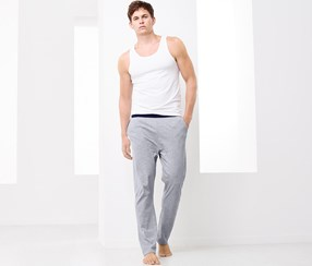 Men's Leisure Trousers, Gray