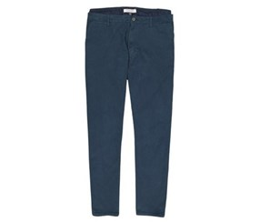 Men's Flat-Front Straight Leg Stretch Chino Pants, Navy