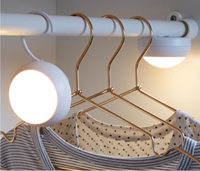 LED Lamps With Hook, White