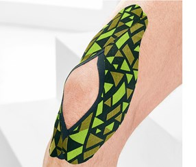 Kinesiology Tapes Set of 3, Green/Blue