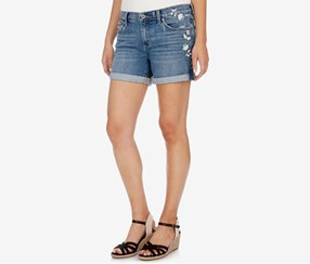 Lucky Brand The Rollup Shorts, Blue Palms