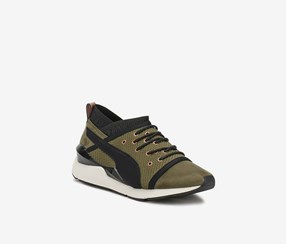 PUMA Womens Pearl Training Shoes, Olive