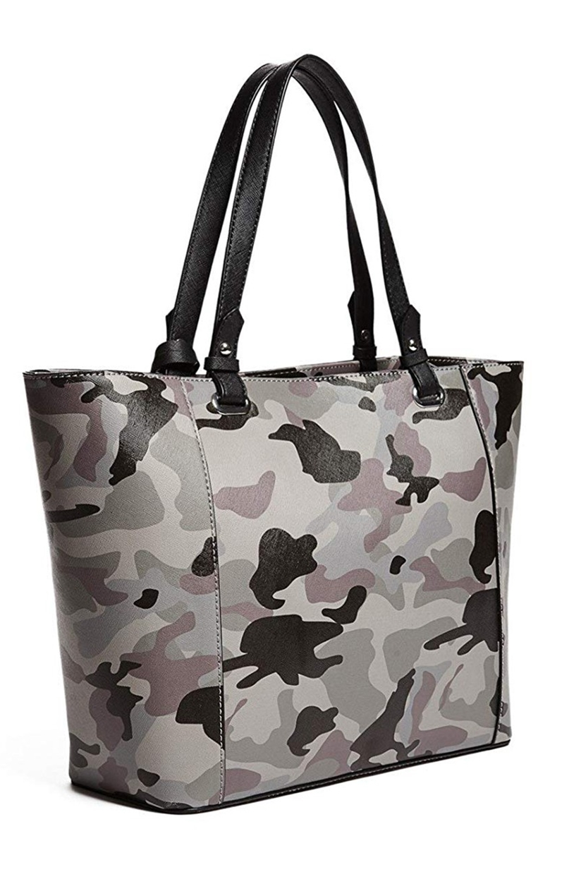 Guess Womens Rigden Camo Large Tote Camouflage Brands For Less
