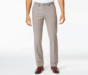 Mens Luxe Stretch Chinos Pants, Dark Sand
