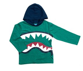 Kapital K Toddler Boy's Graphic Sweater, Green/Navy