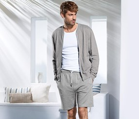 Men's Relax Short, Grey