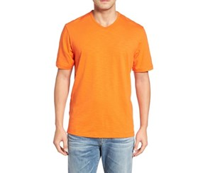 Tommy Bahama Mens Portside Player T-Shirt, Citrus Punch