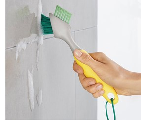 Joint Cleaning Brush, Yellow/Grey/Green