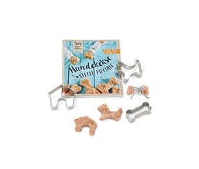 Dogs Goodie Bake Set, Blue/Silver