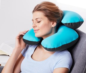 Neck Pillow, Turquoise