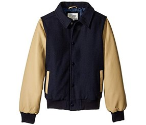 The Children's Place Boy's Jacket, Navy/Tan