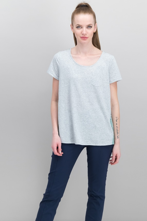 2eb441c6197 Style   Co Scoop-Neck Contrast T-Shirt