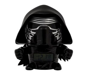 Bulb Botz Star Wars Kylo Ren Night Light Alarm Clock, Black