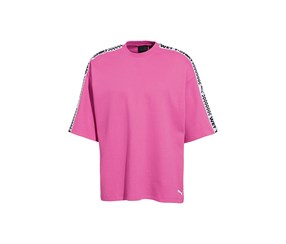 Puma x Fenty Short Sleeve Crew Neck T-shirt, Knockout Pink