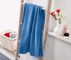 Bath Towel, Light Blue