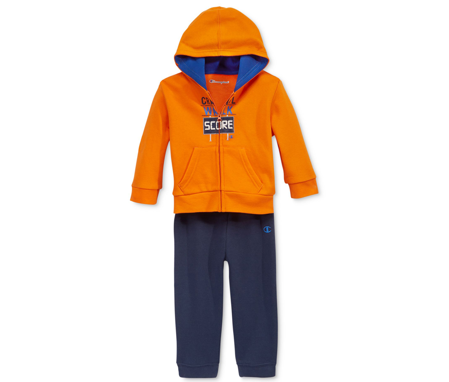 9fa8fa3cad5b ... Babies Set Champion Boys  2-Pc. Zip-Up Hoodie   Pants Set