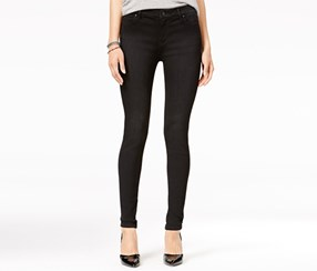 Celebrity Pink Dawson Curvy Fit Super Skinny Jeans, Black