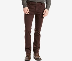 Levi's Men's 511 Slim-Fit Stretch Hybrid Trousers Jeans, Black Coffee